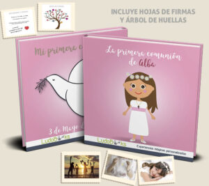 comunion nena castellano 300x267 - La 1ª Comunión para niña