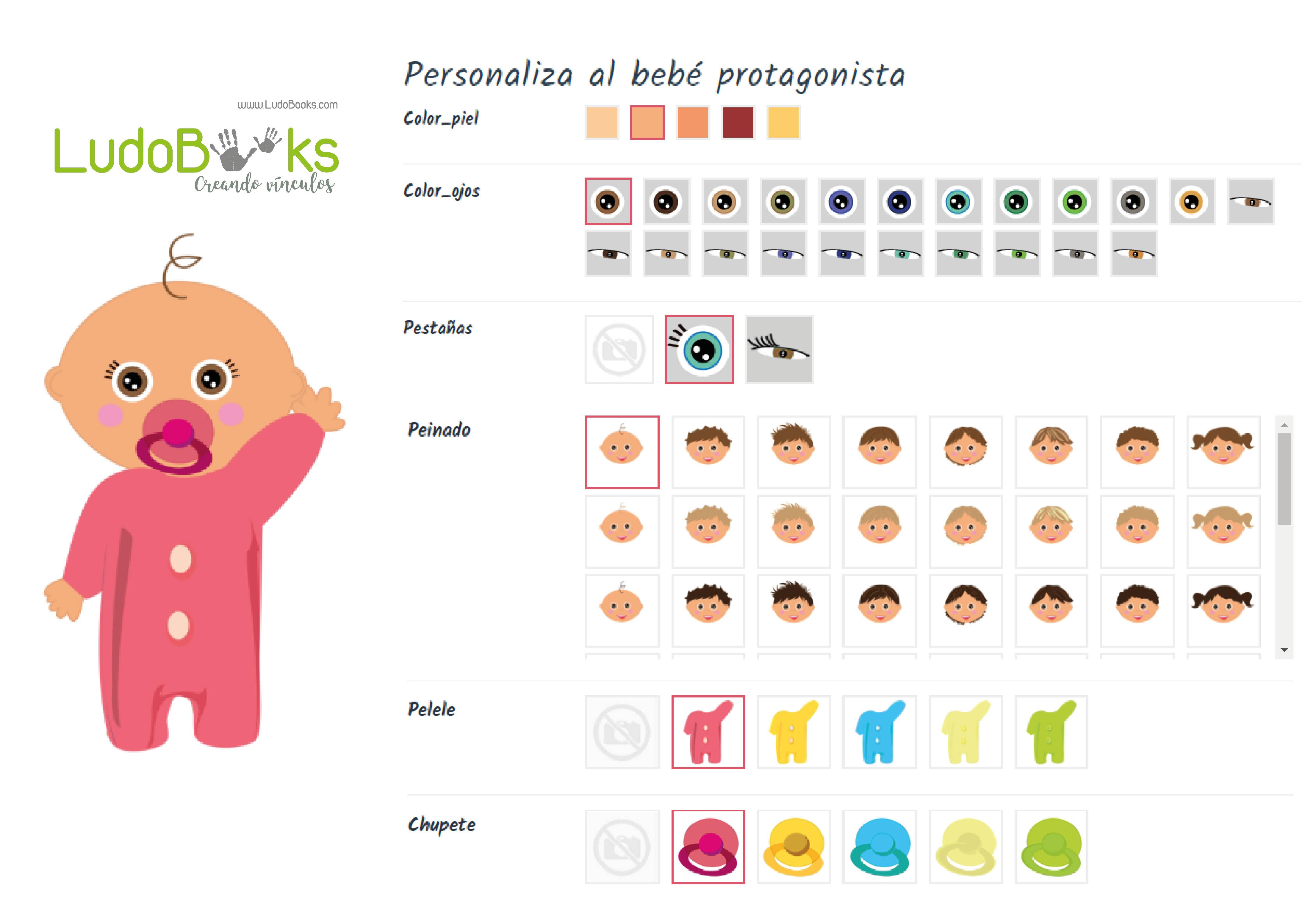 Libros personalizados de bebes - ¡Prueba nuestro configurador!