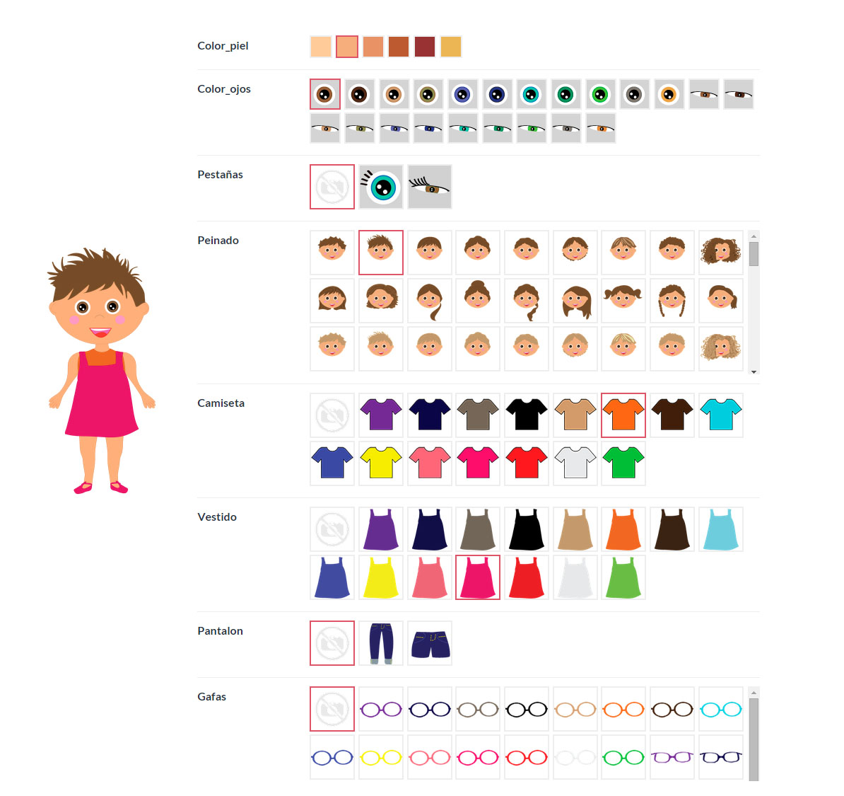 cuentos personalizados infantiles - configurador Ludobooks