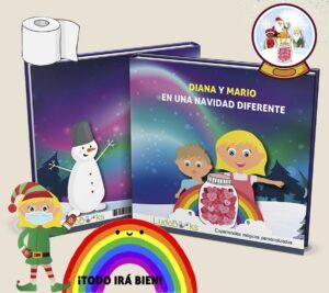 Libro personalizado de Navidad