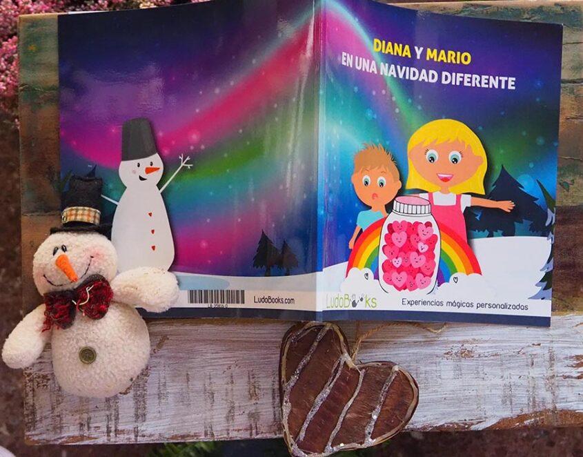 Libro de Navidad personalizado