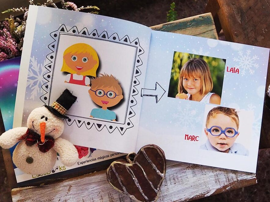 Llibre personalitzat de Nadal