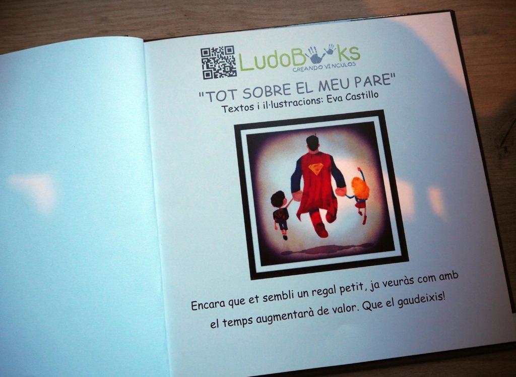 Llibres personalitzats per pares - dedicatòria