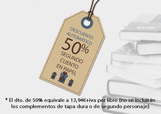 LudoBooks - Descuento 50% para nuestros cuentos personalizados