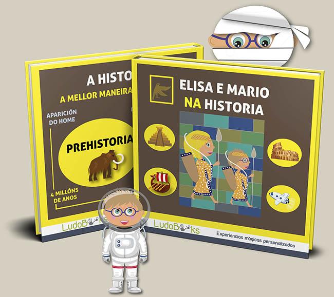 Libro personalizado de la Historia