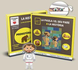 Llibre personalitzat de la història amb el pare