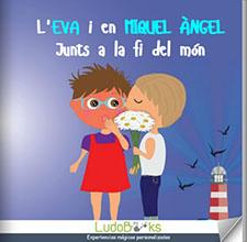 Llibres personalitzats per parelles i enamorats - Junts a la fi del món