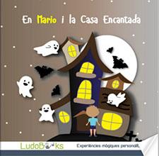 Contes personalitzats per nens - La casa encantada