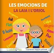 Contes personalitzats per nens - Les emocions