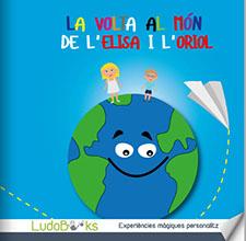 Contes personalitzats per nens - La volta al món