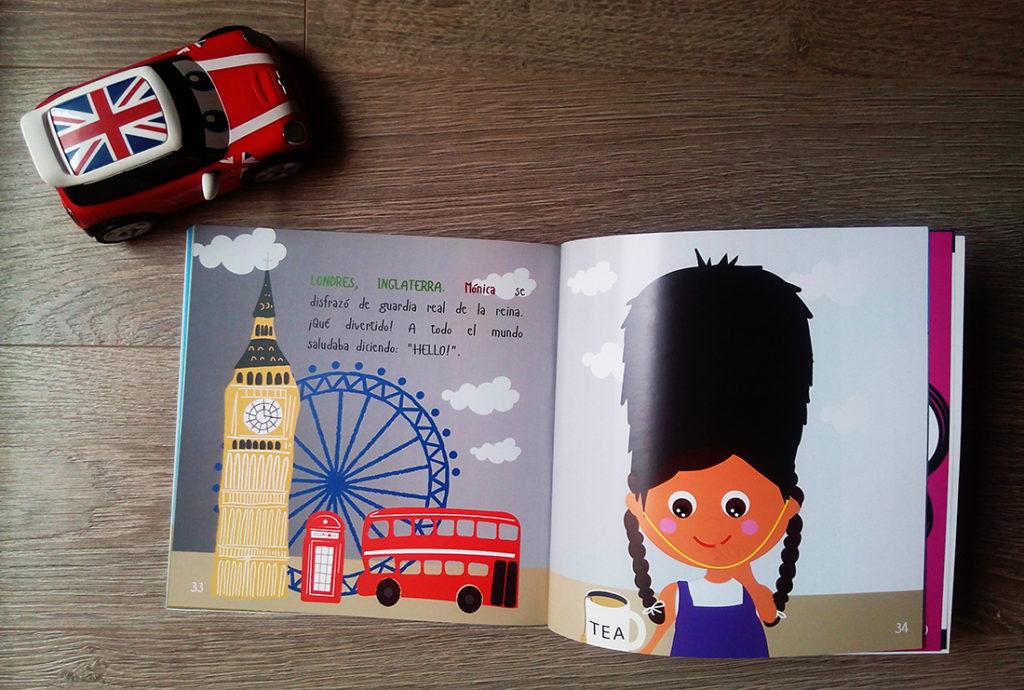 Libros personalizados de aventuras - La vuelta al mundo