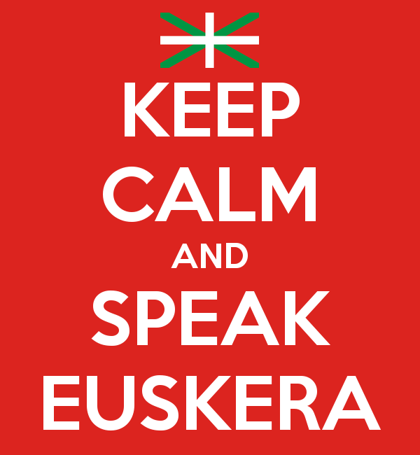 keep calm and speak euskera - Cuentos en euskera