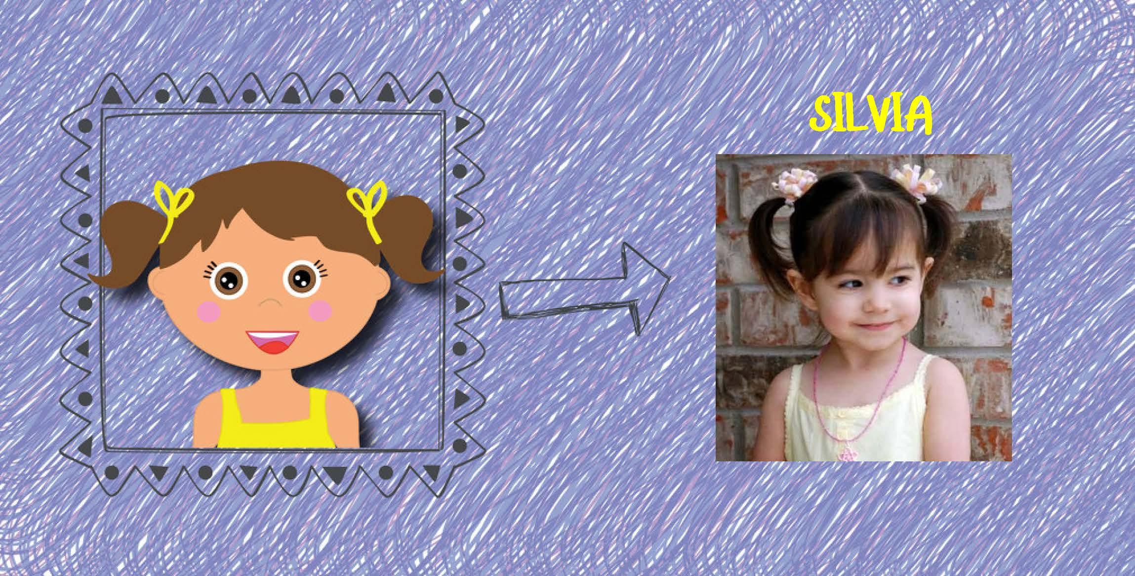 Regalos de cumpleaños originales - Foto y dibujo del niño o de la niña.