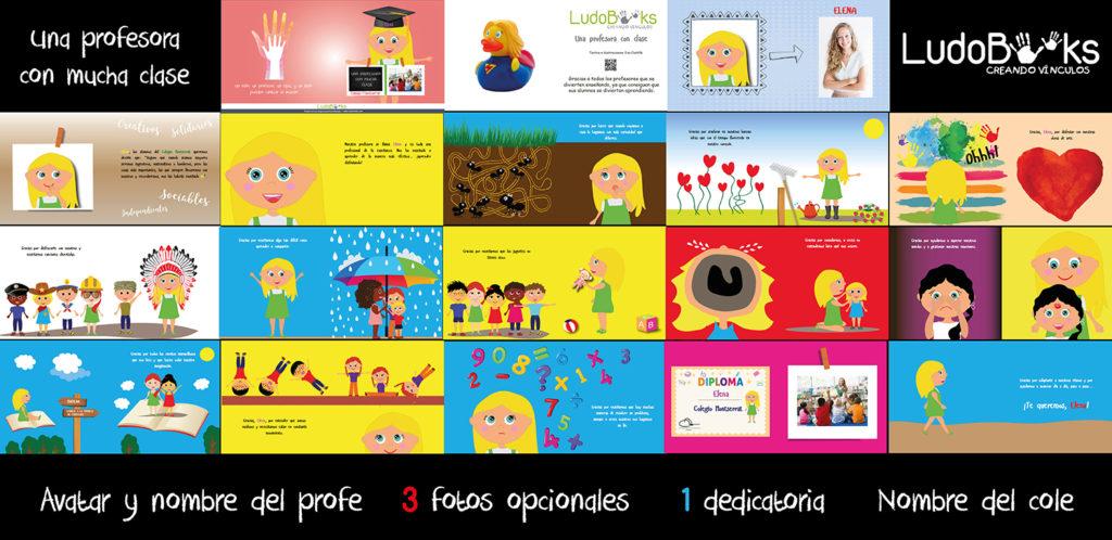cuentos personalizados para profesores