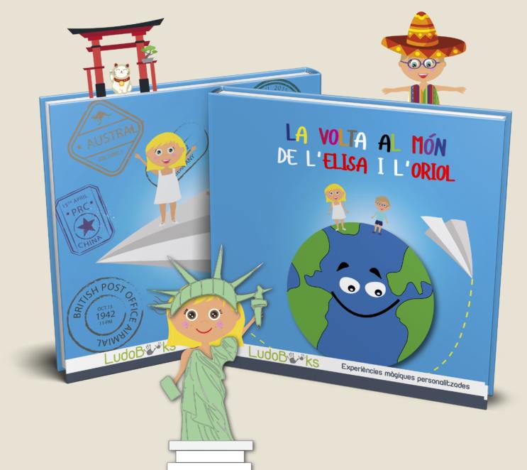 Conte personalitzat d'aventures arreu del món