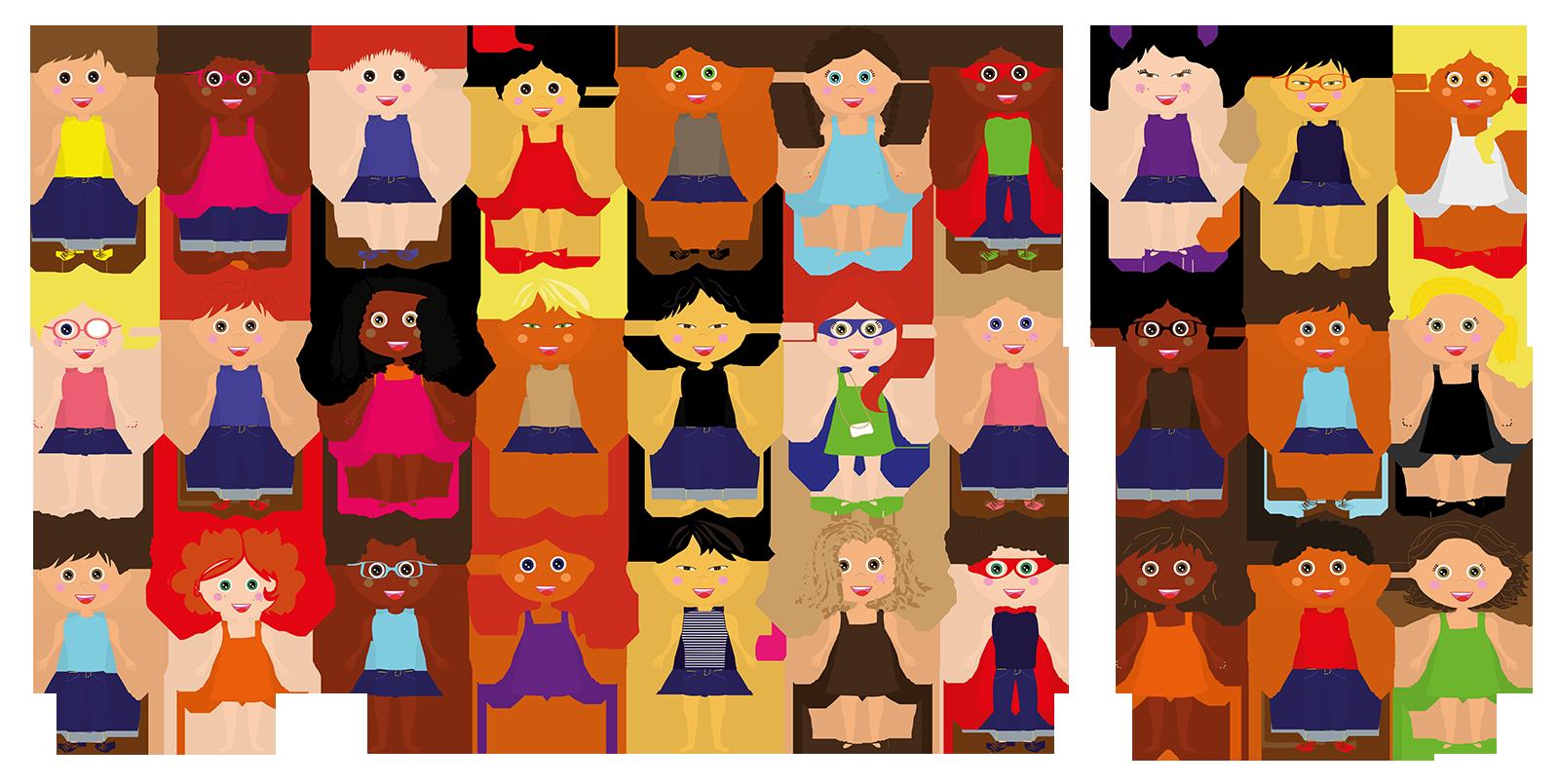 Cuento personalizado - Múltiples combinaciones de avatares personalizados