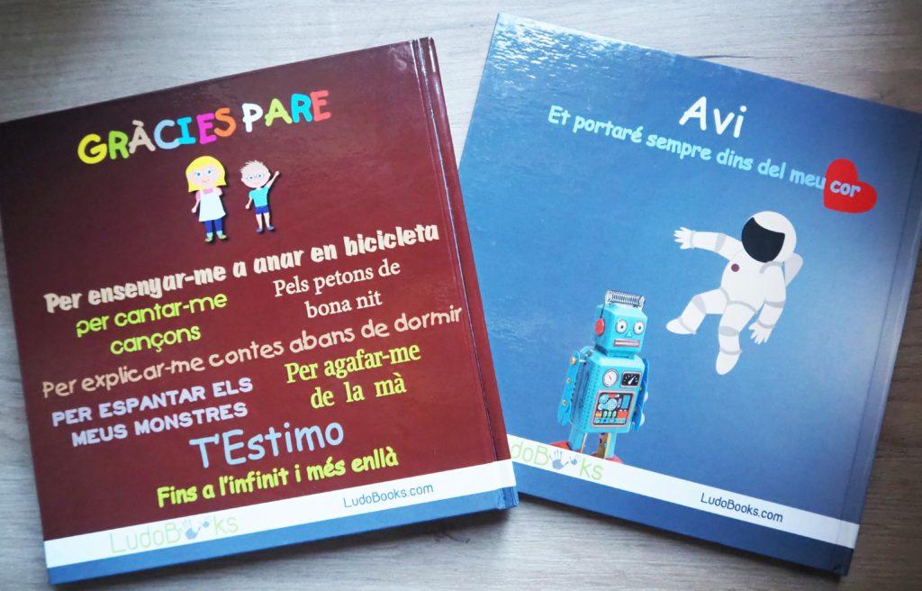 Llibres personalitzats per pares i avis - contraportada