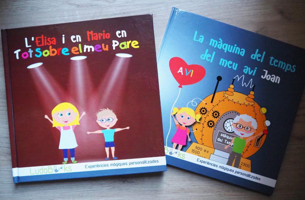 Llibres personalitzats per pares i avis