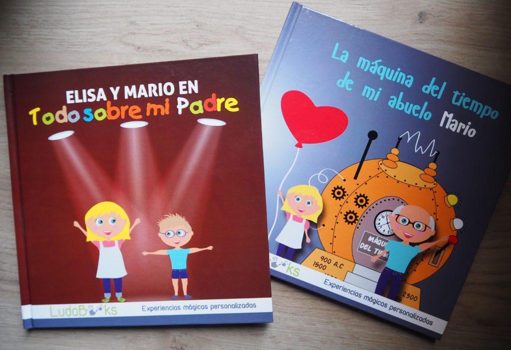Libros personalizados para papás y abuelos