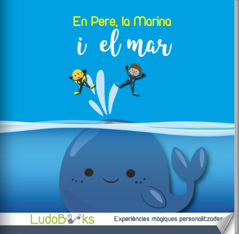 portada bajoelmar ca 2pers - Contes personalitzats per nens en català