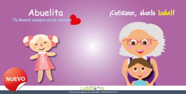 Cuentos personalizados para abuelas