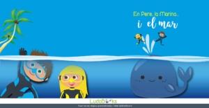 conte personalitzat del fons del mar