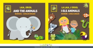 conte personalitzat sobre els animals per aprendre anglès