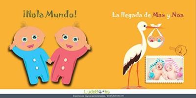 Cuentos personalizado para bebés y sus papis