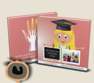 Libro personalizado para profesoras y profesores