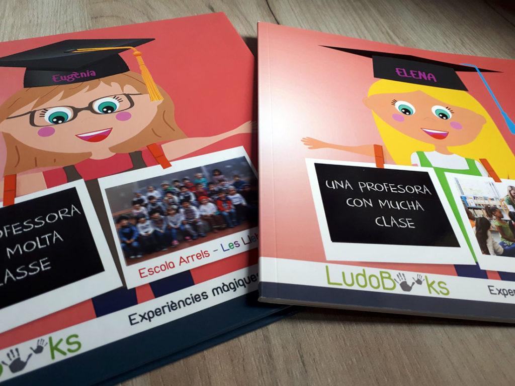 libro personalizado para profesoras