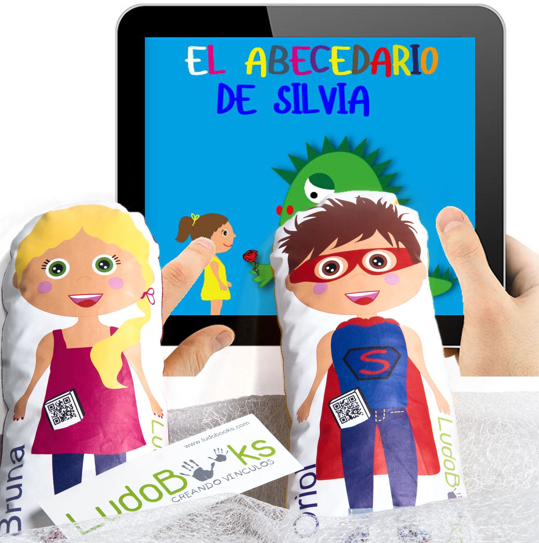 Libros personalizados para Sant Jordi - con sus muñecos personalizados