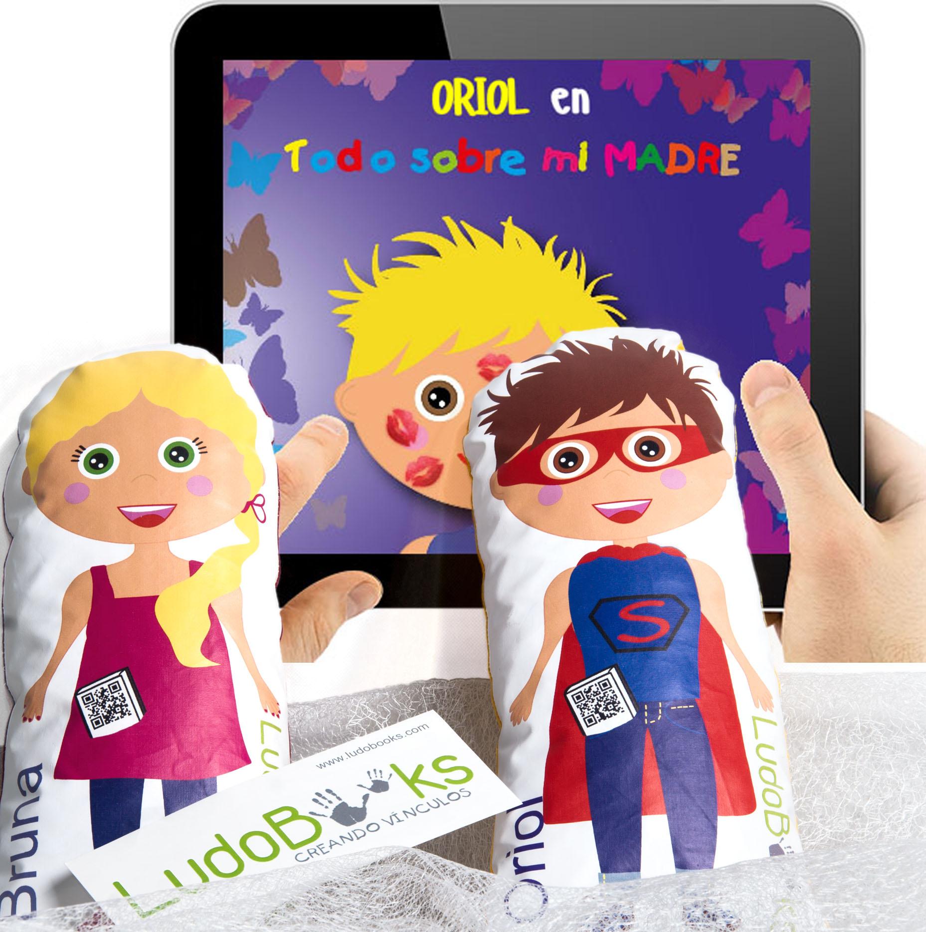 muñecas personalizadas - muñecas con su cuento digital personalizado