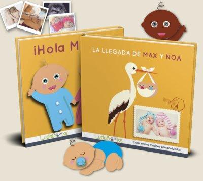 Libro personalizado para bebés