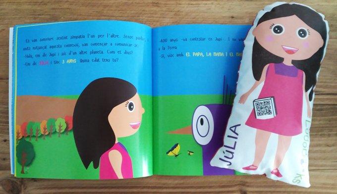 libro de cumpleaños para niños - con su muñeco personalizado