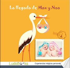 Libro regalo personalizado para bebé recién nacido