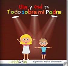 Libro regalo personalizado para el Día del Padre