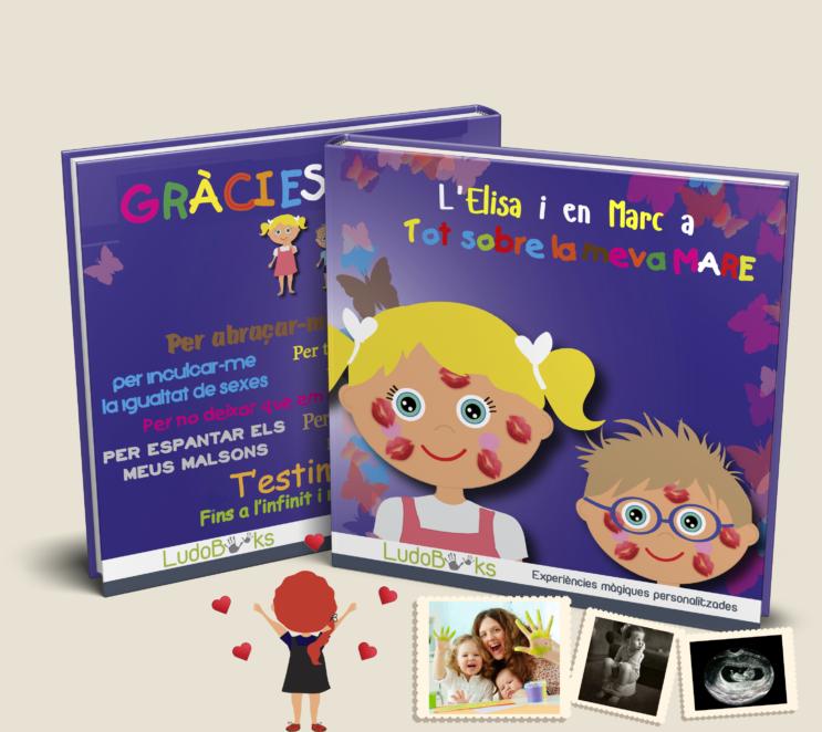 Llibre personalitzat per la mare