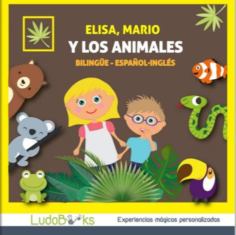 cuento bilingüe de animales