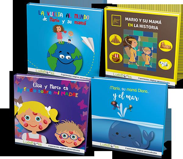 Libros personalizados para mamá